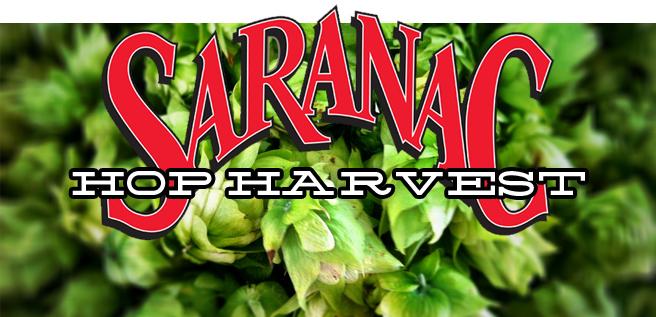 Saranac Hop Harvest 2012